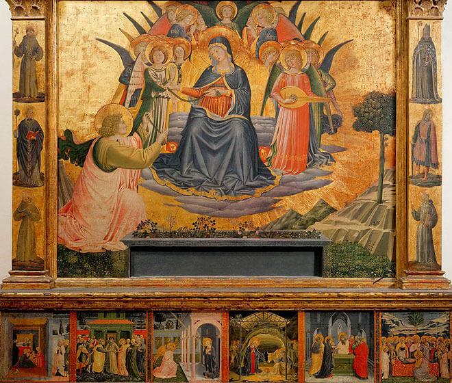 Вознесение Девы Марии» картина