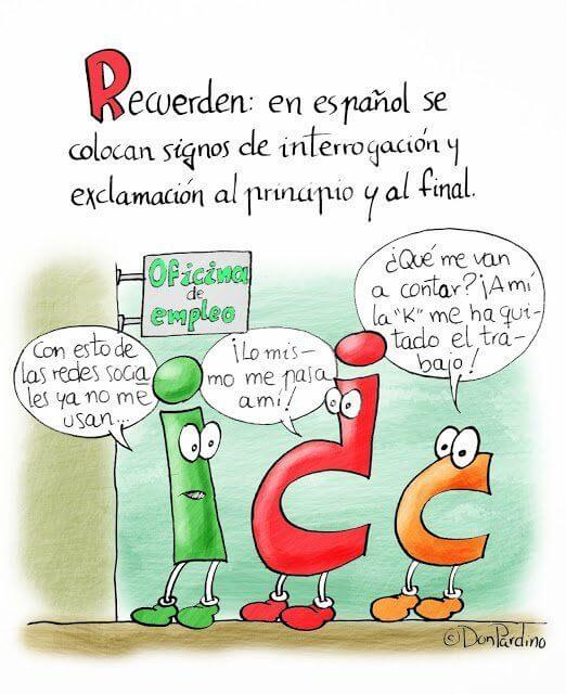 Перевёрнутые знаки вопроса и восклицания в испанском языке испанский язык, иностранные языки, история иностранных языков, длиннопост