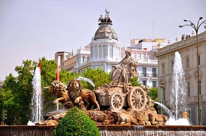 Испания в августе