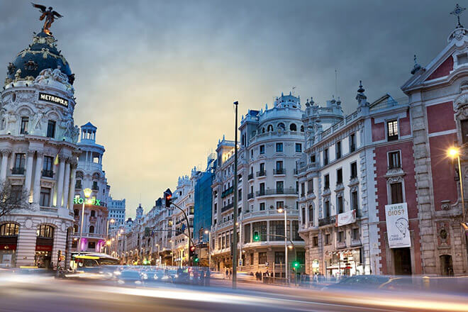 Январь погода в Испании