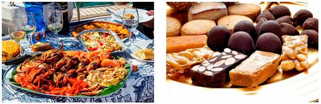 Шампанское и морепродукты
